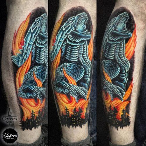 Godzilla piece