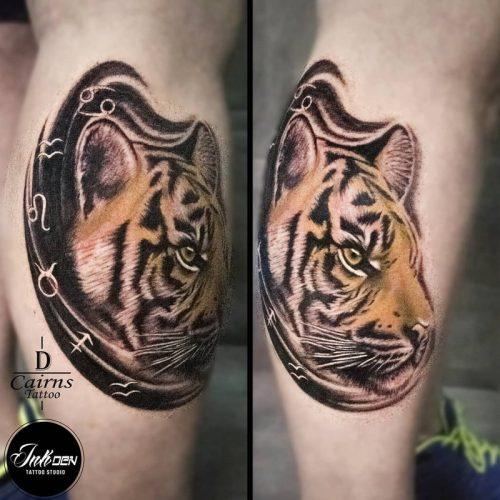realism tiger
